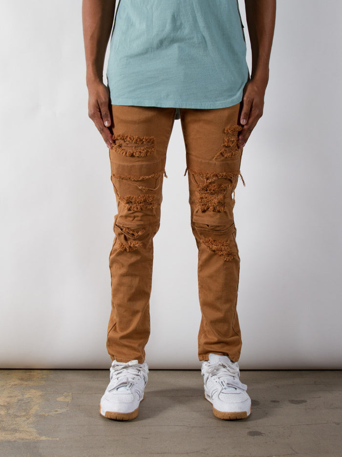 Tobacco Dime Denim | Taper Fit - Rustic Dime