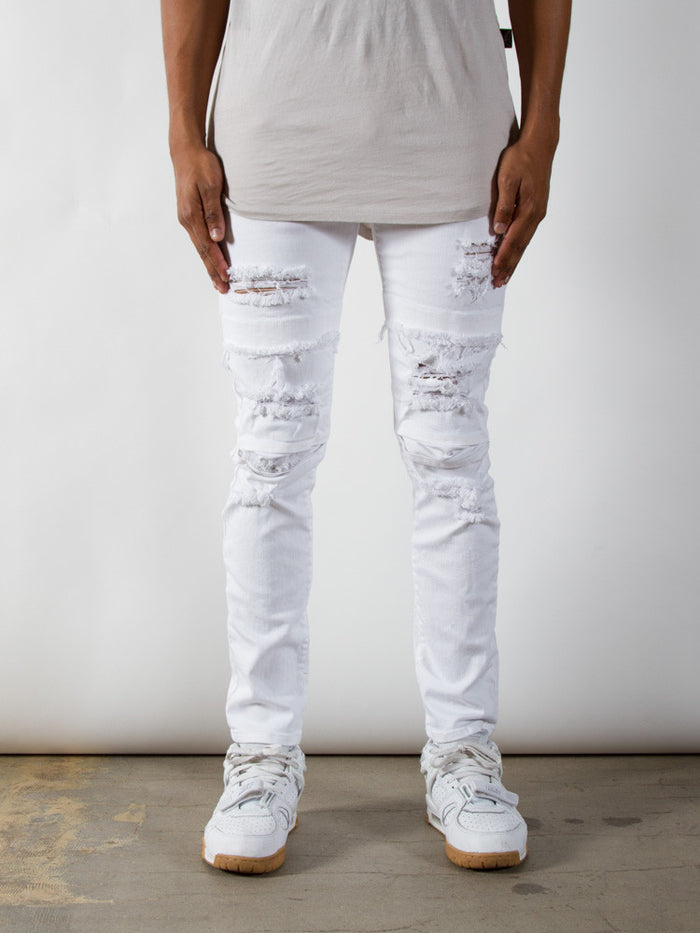 White Dime Denim | Taper Fit - Rustic Dime