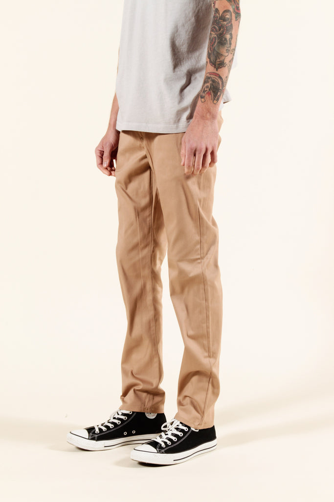 KHAKI | SUMMER CHINO SLIM - Rustic Dime - Made in USA