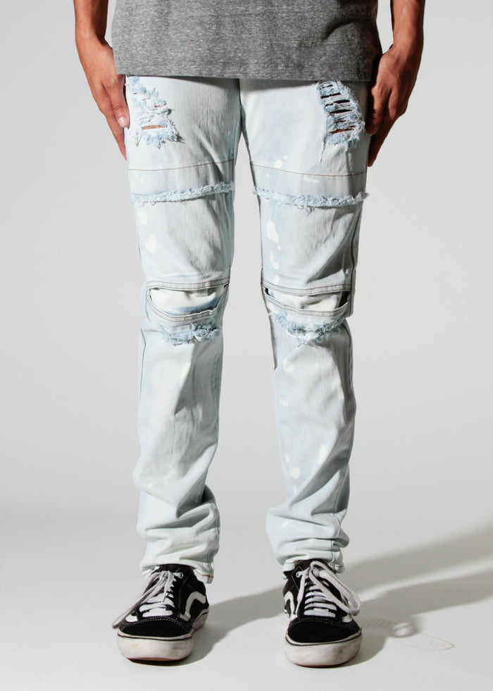 Dayton | Dime Denim Taper Fit - Rustic Dime