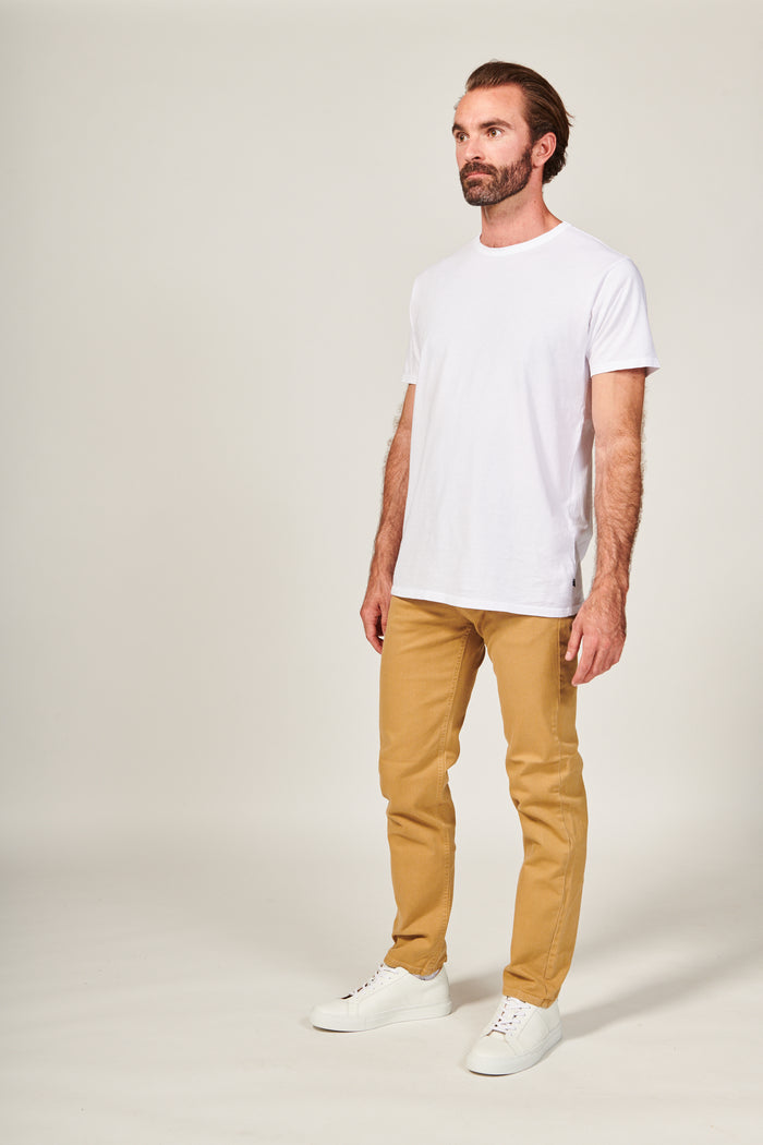 SLIM STRAIGHT | SAND - Rustic Dime - Made in USA