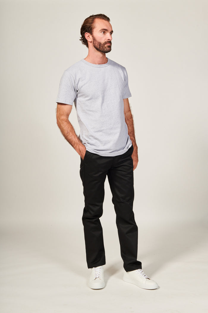 BLACK | WORKWEAR CHINO CLASSIC - Rustic Dime - Made in USA