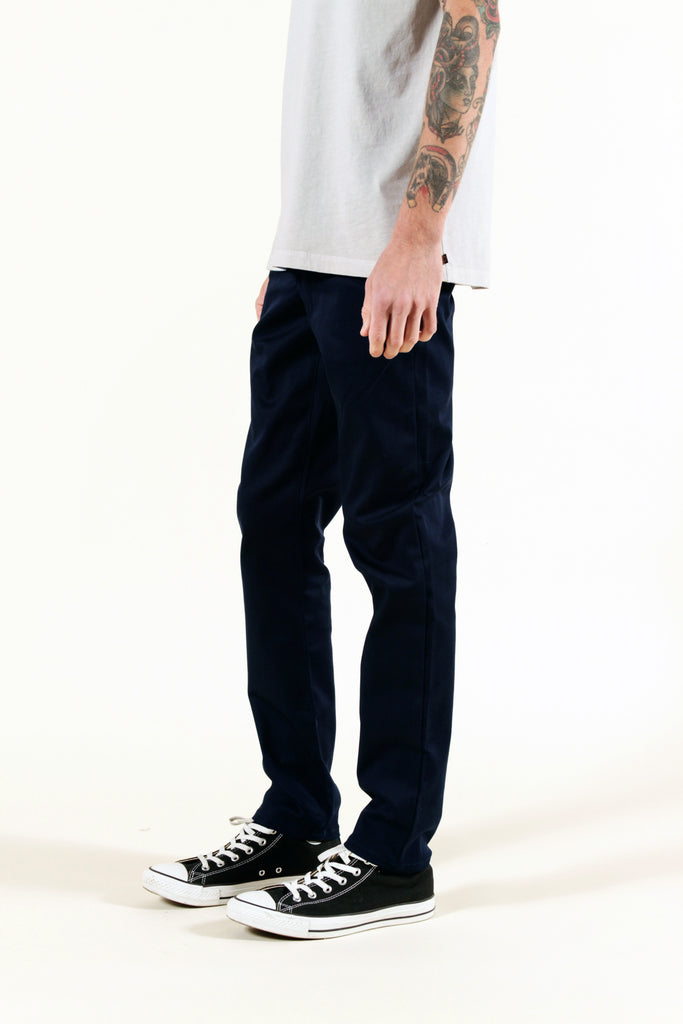 NAVY | SUMMER CHINO SLIM - Rustic Dime