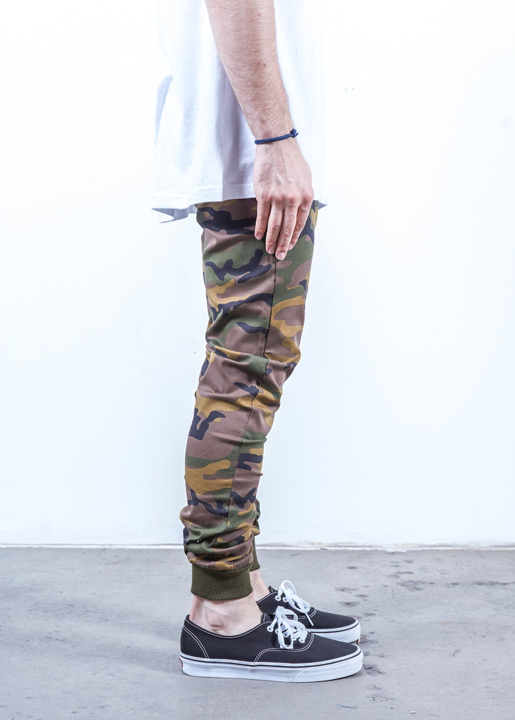 Camo Twill | Sunset Jogger - Rustic Dime