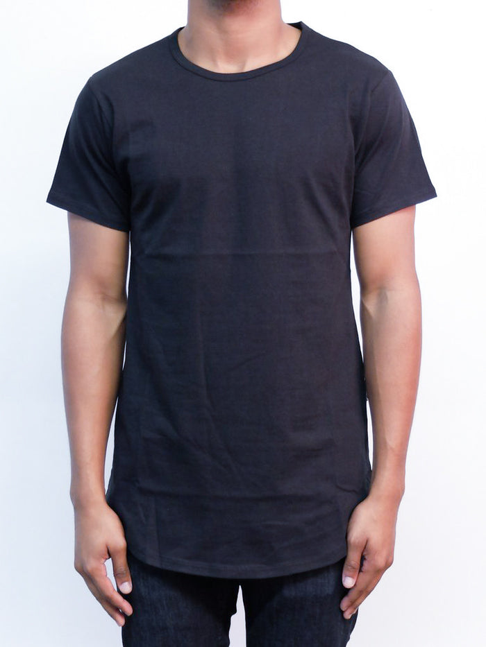 Black | Long Tee - Rustic Dime
