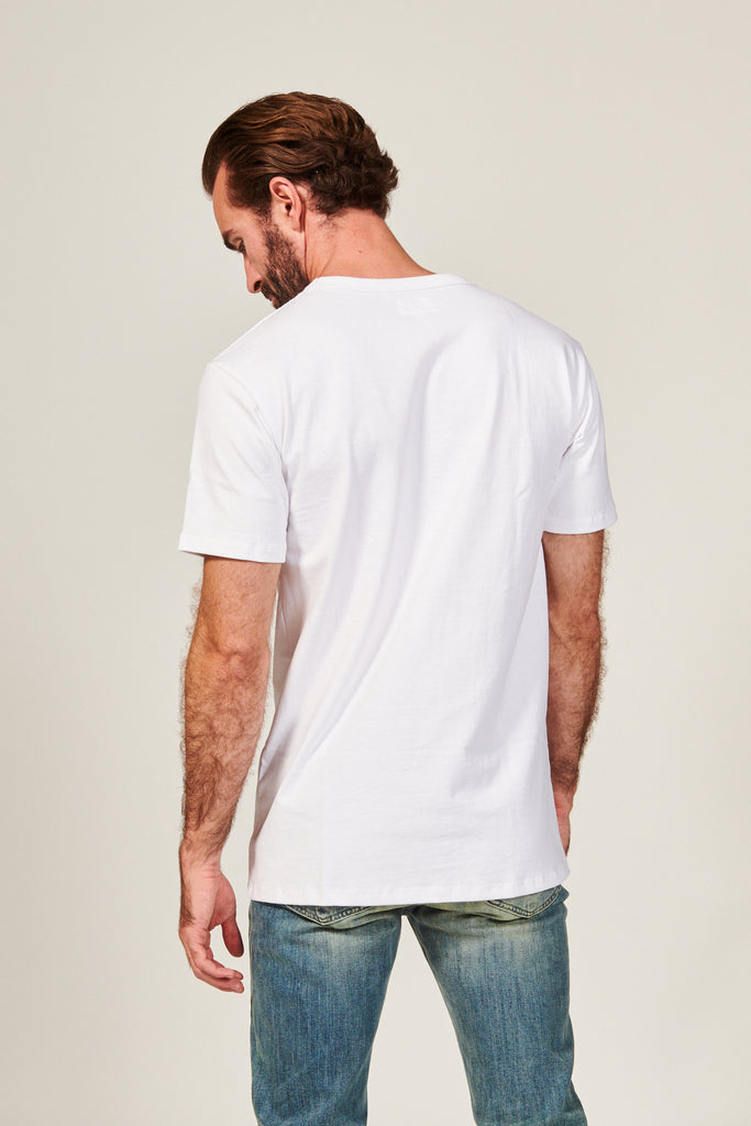 12S CLASSIC TEE | WHITE - Rustic Dime - Made in USA