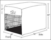 Load image into Gallery viewer, Floppy Dawg 42 Inch Crate Cover Diagram