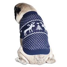 Load image into Gallery viewer, Christmas Holiday Dog Sweaters (3 Pack). Designed to Fit Medium Dogs Weighing 20 to 25 Pounds.