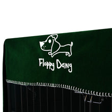 Load image into Gallery viewer, Extra Large 42 Inch Crate Cover in Kale Green Polar Fleece