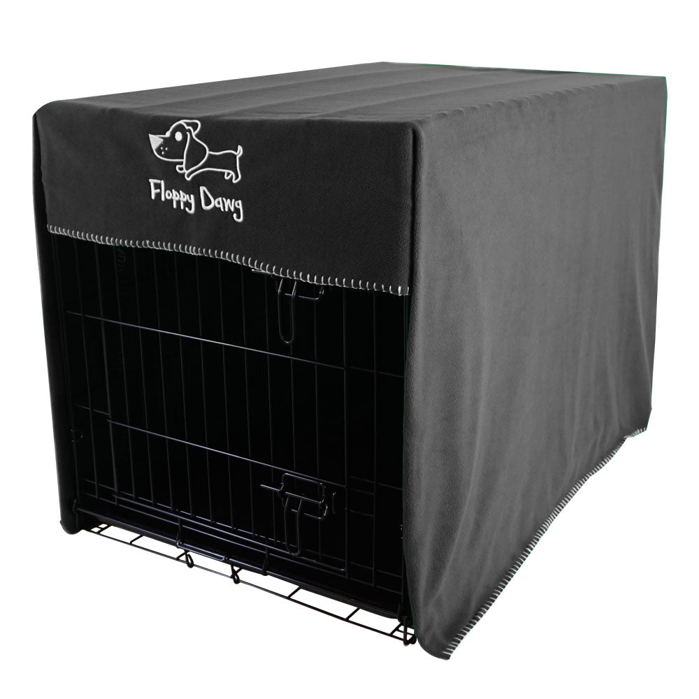 Floppy Dawg Extra Large 42 Inch Crate Cover Gray