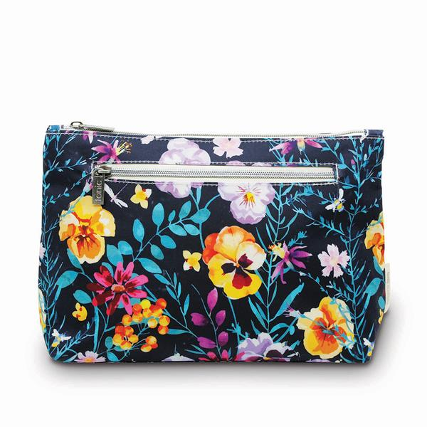 Large Cosmetic Bag - Evening Bloom