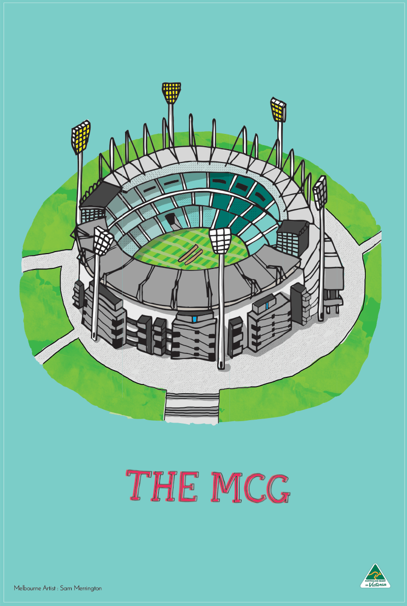 TEA TOWEL – MCG SPEARMINT