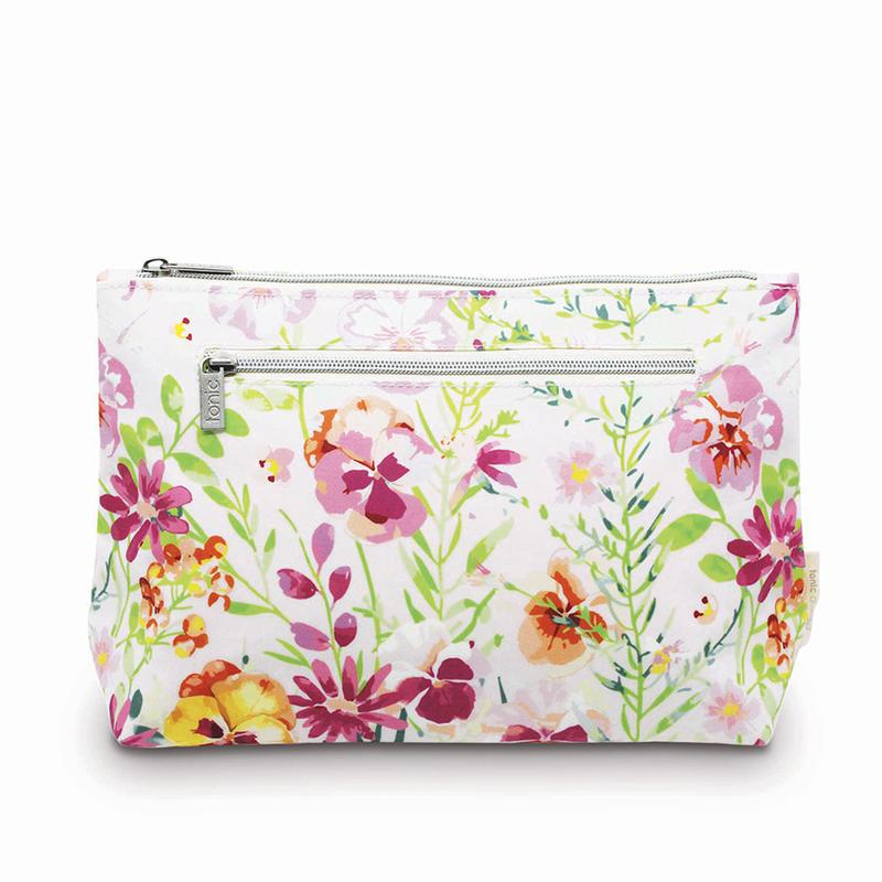Tonic Large Cosmetic Bag - Morning Bloom