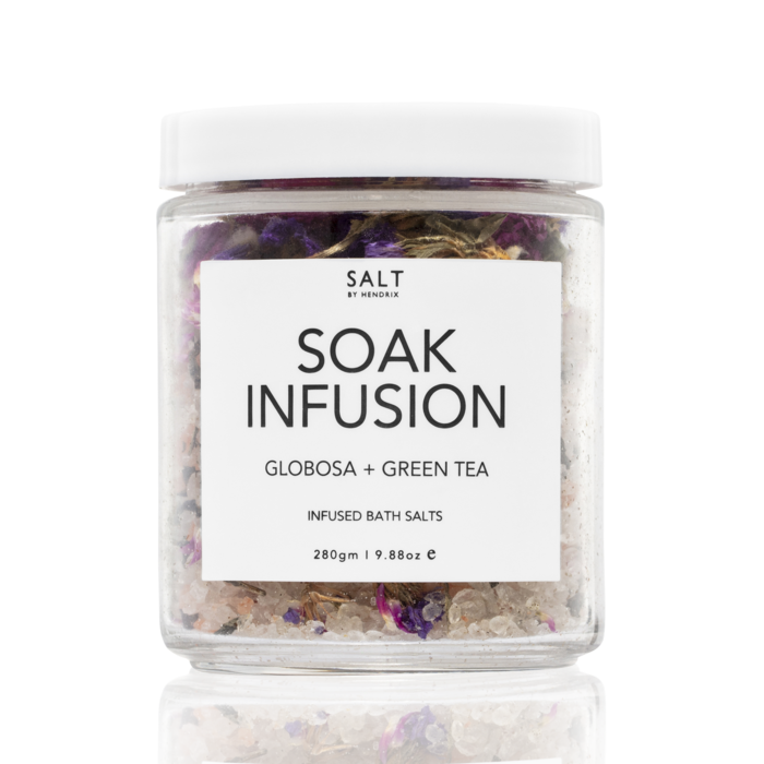 SALT BY HENDRIX SOAK INFUSION - GLOBOSA + GREEN TEA