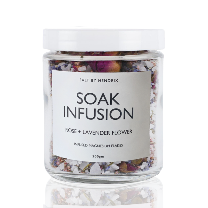 SALT BY HENDRIX SOAK INFUSION - ROSE + LAVENDER FLOWER