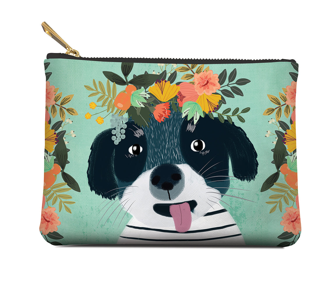 Studio Oh Zippered Pouch Medium - FANCY DOG