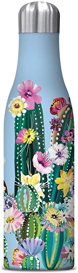 Studio Oh INSULATED DRINK BOTTLE 500ML - Desert Blossoms