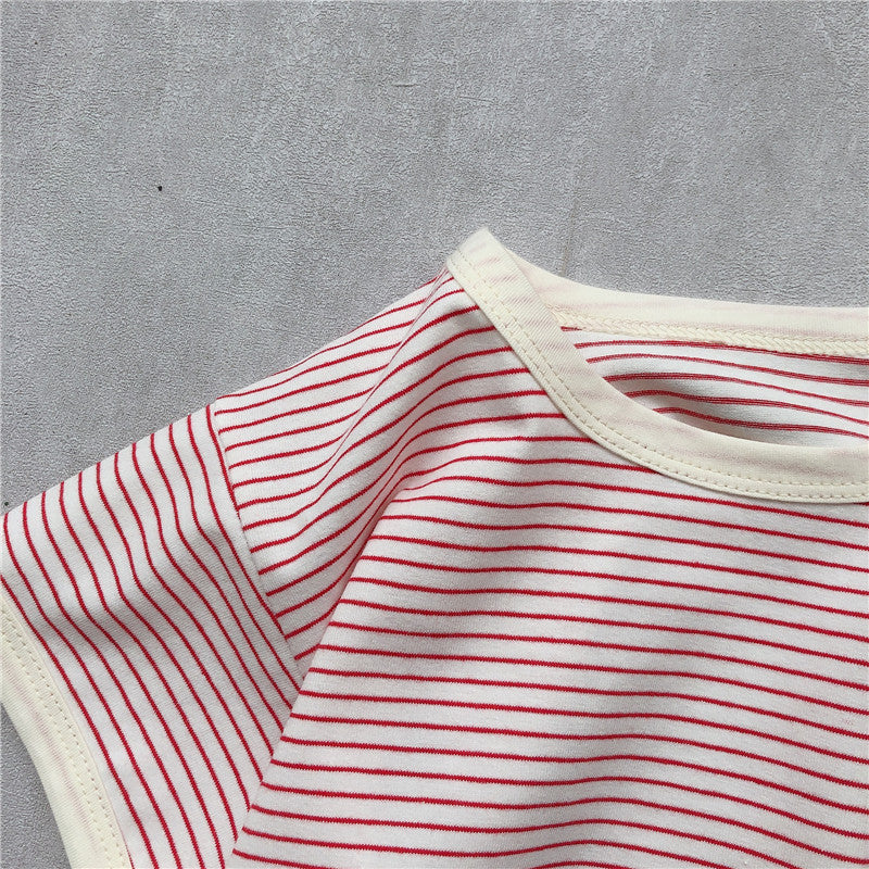 Number 12 Stripe Top - jackandbo.com