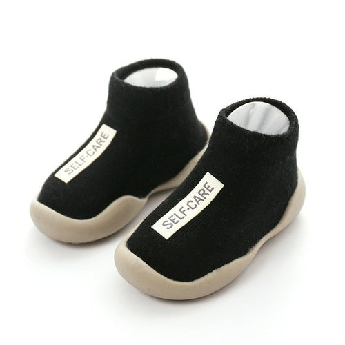 Self-Care Baby Cotton Knitted Shoes - jackandbo.com