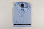 Men's Pierre Cardin Maurice Long Sleeve Shirt - Sky