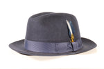 Men's Trilby Hat - Navy