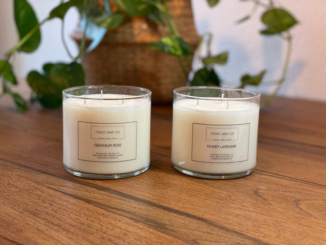 Tonic and Co Artisan Candles