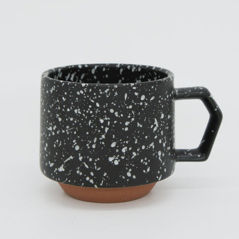 Japanese Mug - Black Speckled 9 oz.