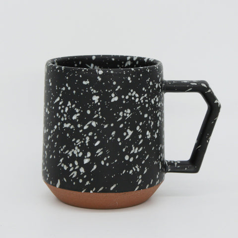 Japanese Mug - Black Speckled 12 oz.