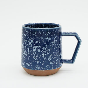 Japanese Mug - Navy Speckled 12 oz.