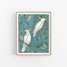 Load image into Gallery viewer, Cockatoos Art Print