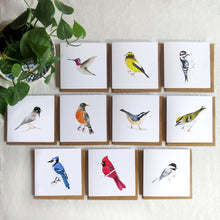 Load image into Gallery viewer, Garden Birds Card Set