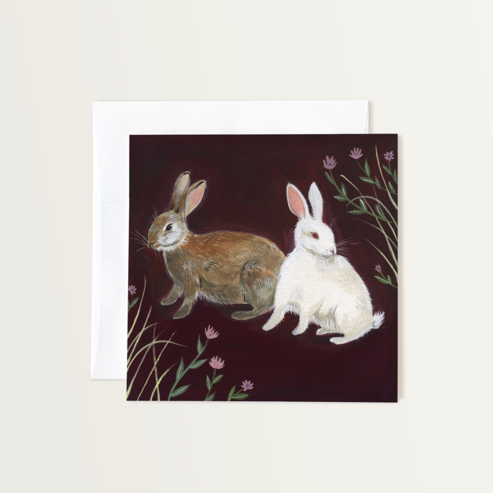 Rabbits Card