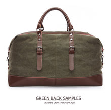 Load image into Gallery viewer, A Traveler's Tale (Men's Duffel Bag)
