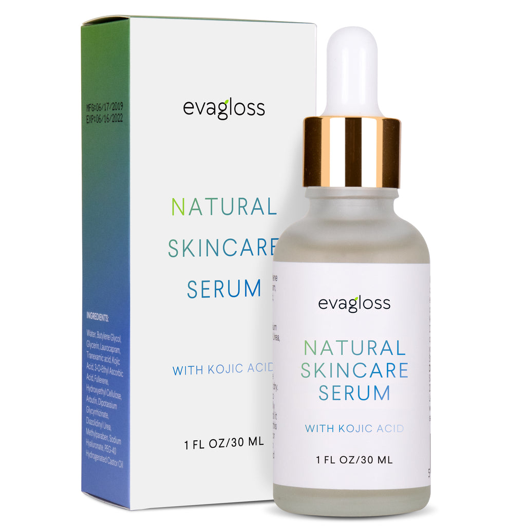 Evagloss Dark Spot Corrector Serum with Kojic Acid for Face & Body 30ml