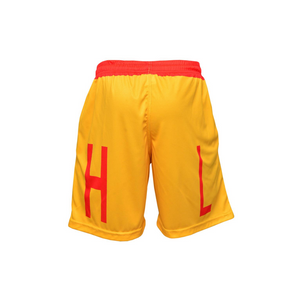 Handlelife Shorts - Yellow & Red
