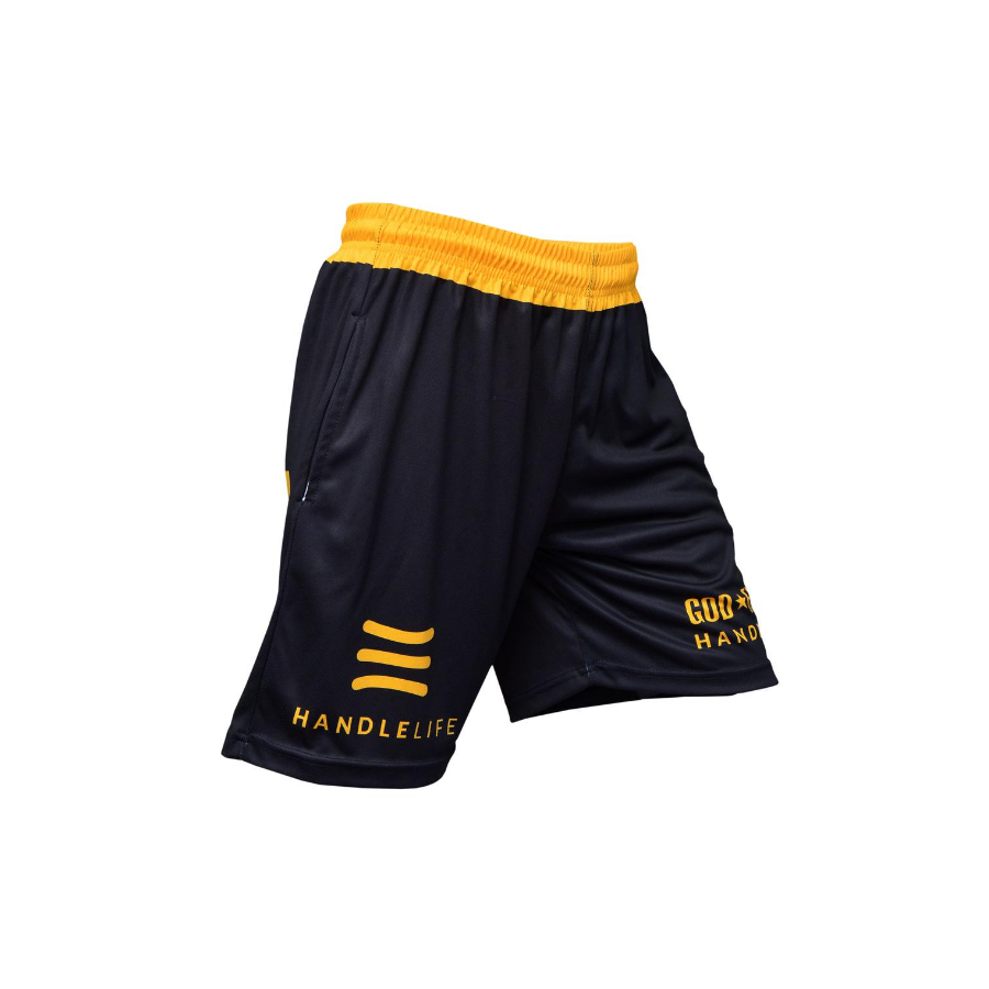 Handlelife Shorts - Black & Yelllow