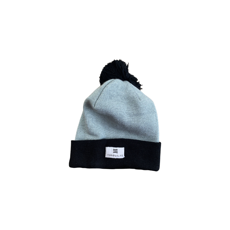 HandleLife Beanie - LT Grey/Black