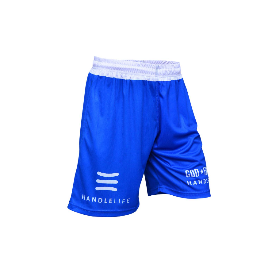 Handlelife Shorts - Blue & White