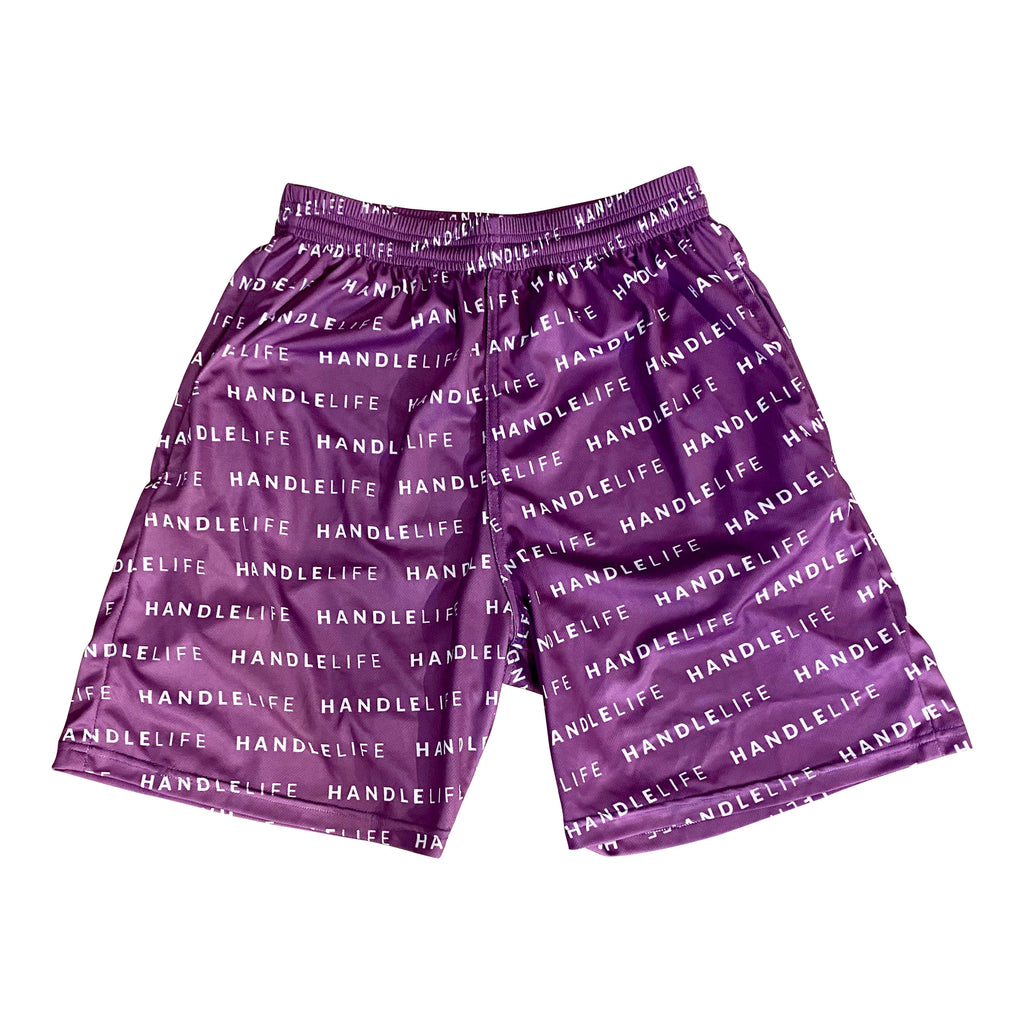 Handlelife All Over Shorts - Purple