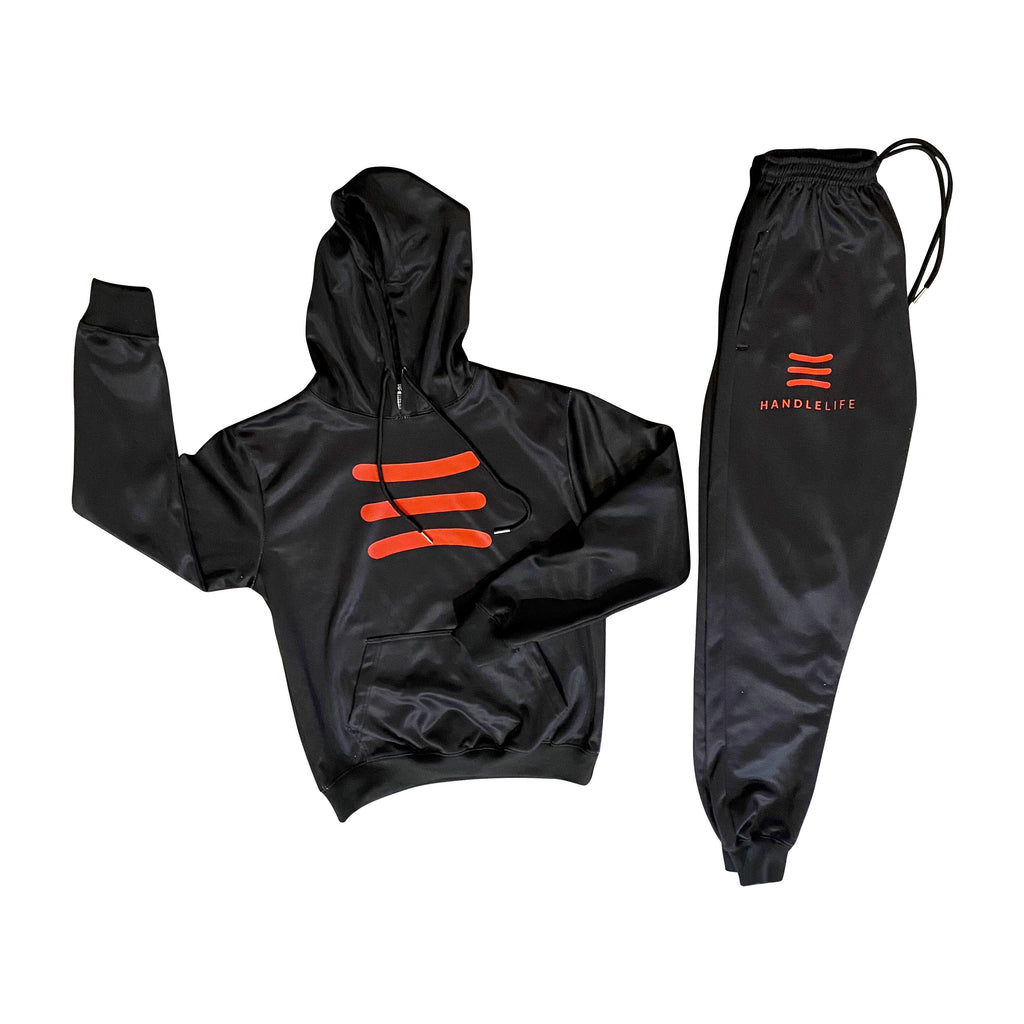 HandleLife Hoodie Suit - Black/Red