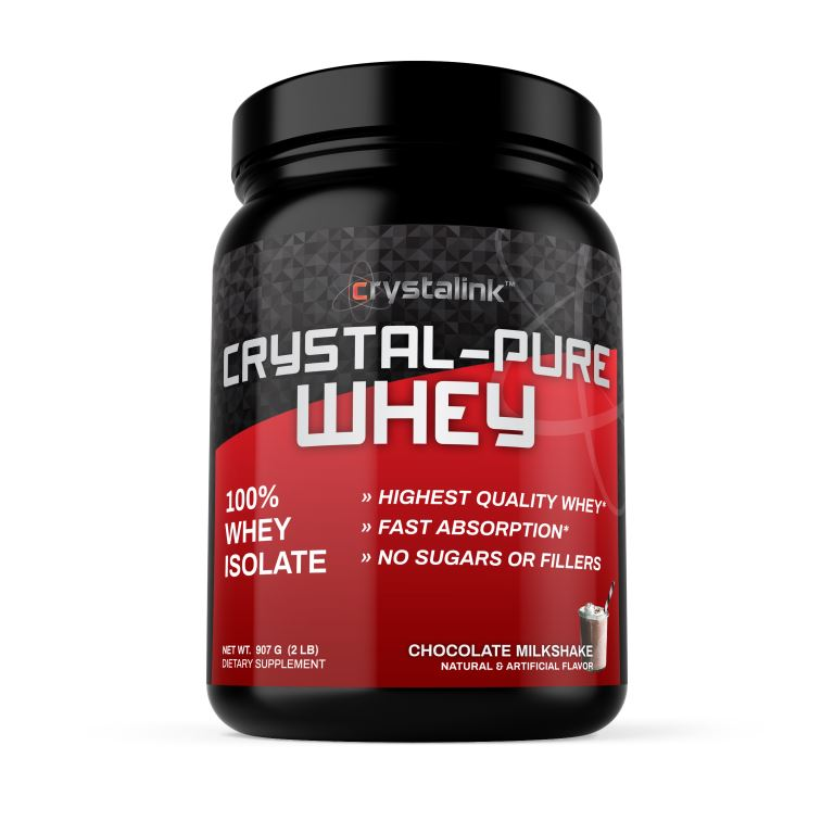 Crystal Pure Whey (Chocolate Milkshake Flavour)