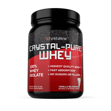 Load image into Gallery viewer, Crystal Pure Whey (Vanilla Milkshake Flavour)