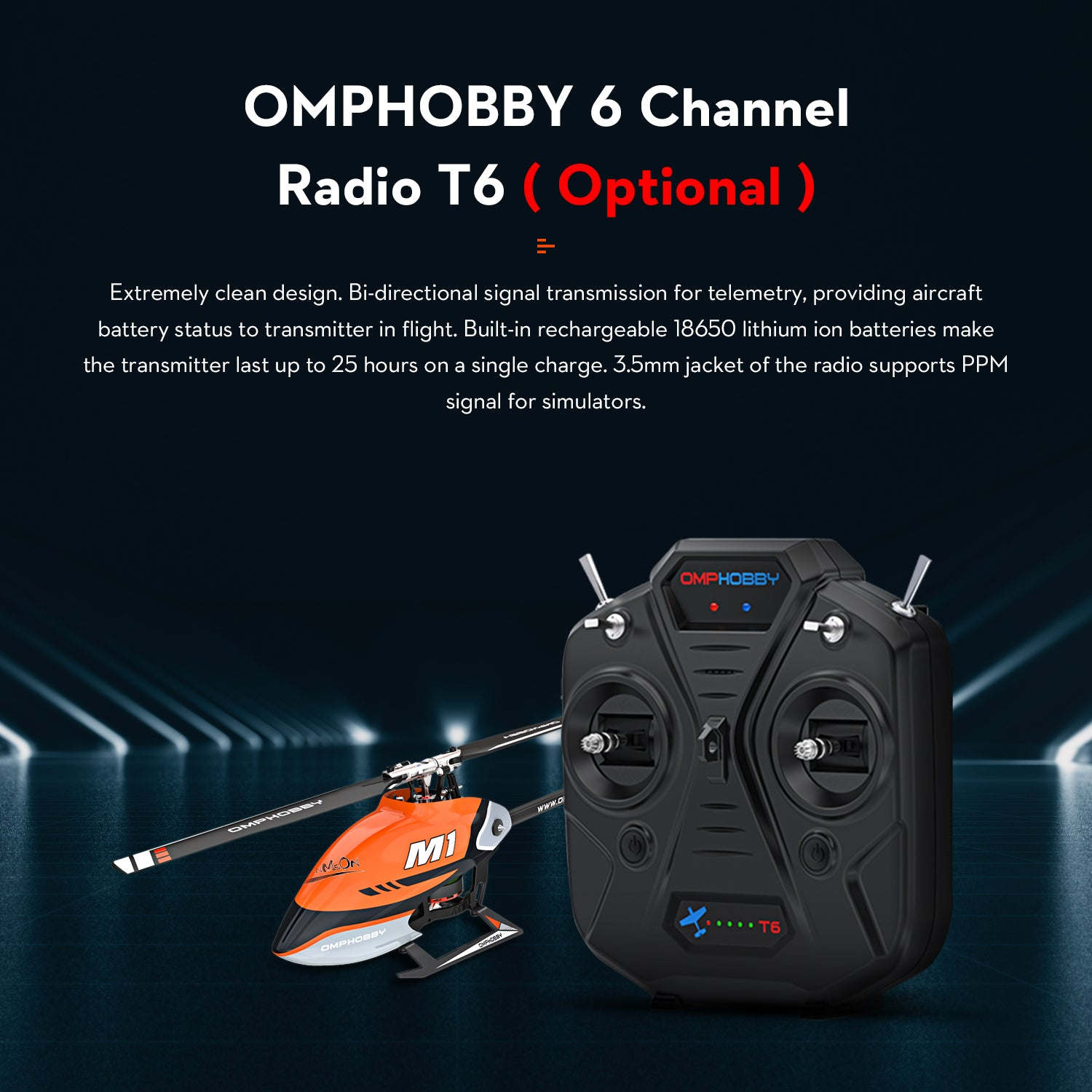 OMPHOBBY M1 Details