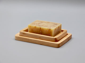 Pine Ladder & Tray Soap Dish