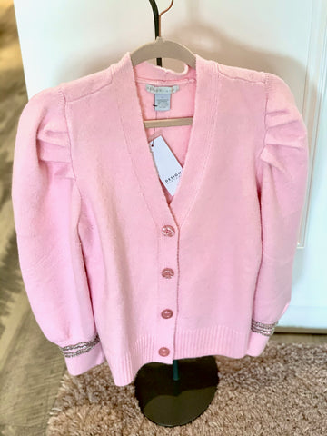Cardigan with Sequin Detail