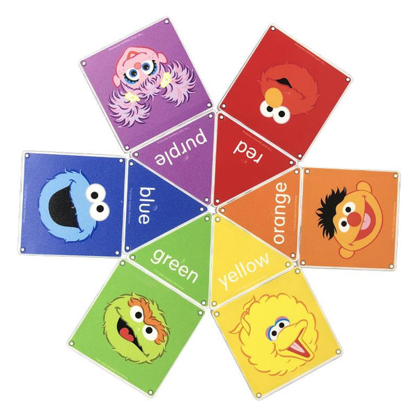 Magnatiles Sesame Street Colors With Elmo