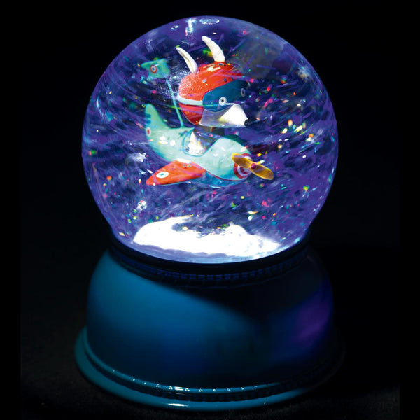 Djeco Snow Globe Night Light: Airplane