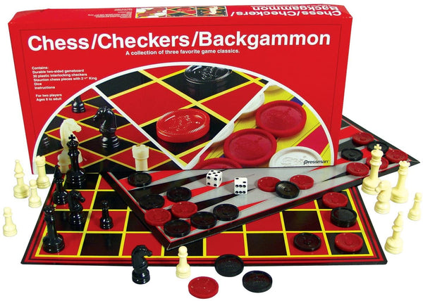 Chess, Checkers & Backgammon