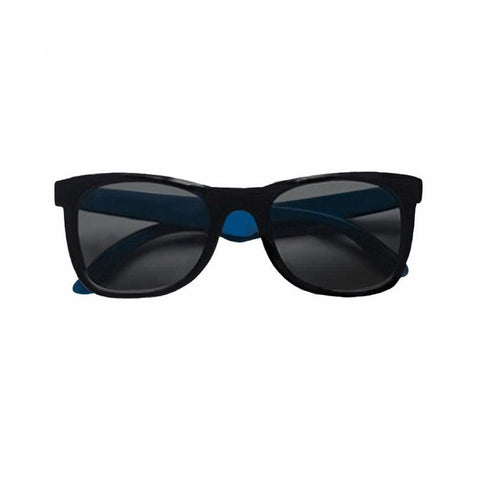 Teeny Tiny Optics Toddlers Black/Blue Sunglasses
