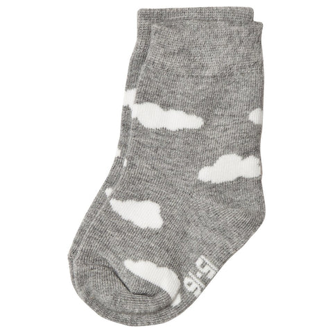 Melton Cloud Socks Grey